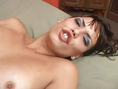 TranssexualsPorno - You are gonna love this update which involves a fresh looking young shemale who calls herself Natalia Prado. It starts with this chick stripping and giving us an excellent view of her tits then she joins our stunt cock in bed to suck a