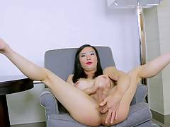 Her horny and kinky attitude is as nasty as it gets, plus she loves getting hard for horny men.