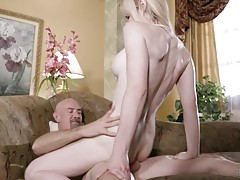Kayleigh begs him to pound her eager asshole and Smith is more than ready to give her a deep-dicking. Smith teases her asshole, entering her slowly as she moans with delight. The building sexual fire erupts into an aggressive and quick pace, Kayleigh pull